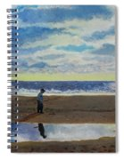 The Early Fisherman Spiral Notebook