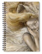 The Ecstasy Of Angels Spiral Notebook