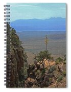 The Edge Of Parker Canyon Spiral Notebook