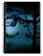 The Edge Of Twilight  Spiral Notebook