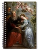 The Education Of The Virgin Spiral Notebook