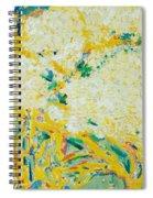 The Elderflower Tree Oil On Canvas Spiral Notebook