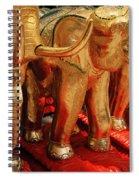 The Elephant Shrine Spiral Notebook