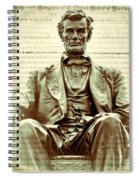 The  Emancipation Proclamation And Abraham Lincoln Spiral Notebook