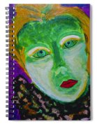 The Emerald Lady Spiral Notebook