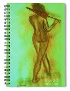 The Emerald Stroll Spiral Notebook