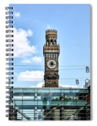 The Emerson Bromo-seltzer Tower Spiral Notebook
