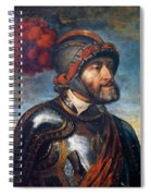 The Emperor Charles V Spiral Notebook