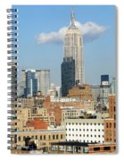The Empire State Building Spiral Notebook