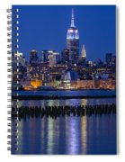 The Empire State Building Pastels Esb Spiral Notebook
