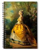 The Empress Eugenie Spiral Notebook