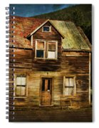 The Empty House Spiral Notebook