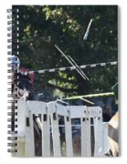 The End To The Jousting Contest  Spiral Notebook