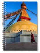 The Endless Search For Eternity Spiral Notebook