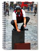 The Entertainer Spiral Notebook