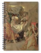 The Entombment Of Christ Spiral Notebook