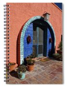 The Entrance Spiral Notebook