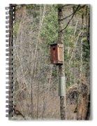 Birdhouse Environment Of Hamilton Marsh  Spiral Notebook