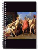 The Envoys Of Agamemnon Spiral Notebook