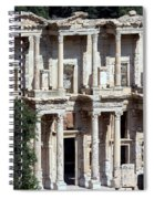 The Ephesus Library In Turkey Spiral Notebook