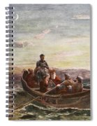 The Escape Of Mary Queen Of Scots Spiral Notebook