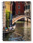 The Essence Of Venice Spiral Notebook