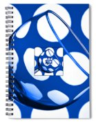 The Eternal Glass Blue Spiral Notebook