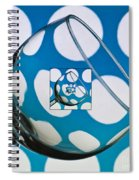 The Eternal Glass Light Blue Spiral Notebook