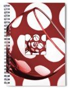 The Eternal Glass Red Spiral Notebook