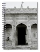 The Ethereal Temple Spiral Notebook