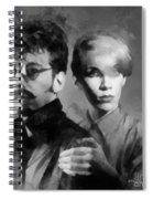 The Eurythmics Spiral Notebook