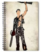 The Evil Dead - Bruce Campbell Spiral Notebook