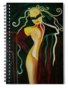 The Exhibitionist Spiral Notebook