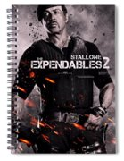 The Expendables 2 Stallone Spiral Notebook