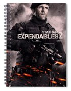 The Expendables 2 Statham Spiral Notebook