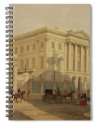 The Exterior Of Apsley House, 1853 Spiral Notebook