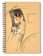 The Extra Passenger Spiral Notebook