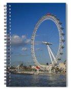 The Eye In London Spiral Notebook