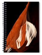 The Eye Of Lower Antelope Canyon Spiral Notebook