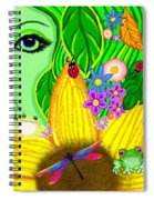 The Eye Of Mother Nature Spiral Notebook
