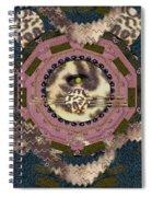 The Eye Of The Hidden Tiger Spiral Notebook