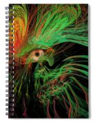 The Eye Of The Medusa Spiral Notebook