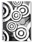 The Eyes Have It - Dramatic Film Noir Version Spiral Notebook
