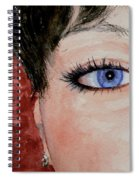 The Eyes Have It - Nicole Spiral Notebook
