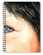 The Eyes Have It - Tami Spiral Notebook