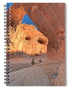The Eyes Of Corona Spiral Notebook