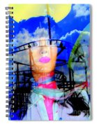 The Eyes Of Miss Coney Island Spiral Notebook