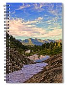 The Eyes Of The Mountain. Spiral Notebook