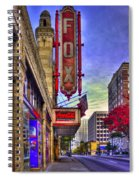 The Fabulous Fox Atlanta Georgia. Spiral Notebook