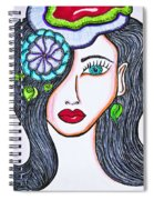 The Face Spiral Notebook